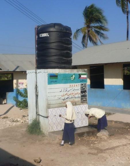 WASH programme Zanzibar