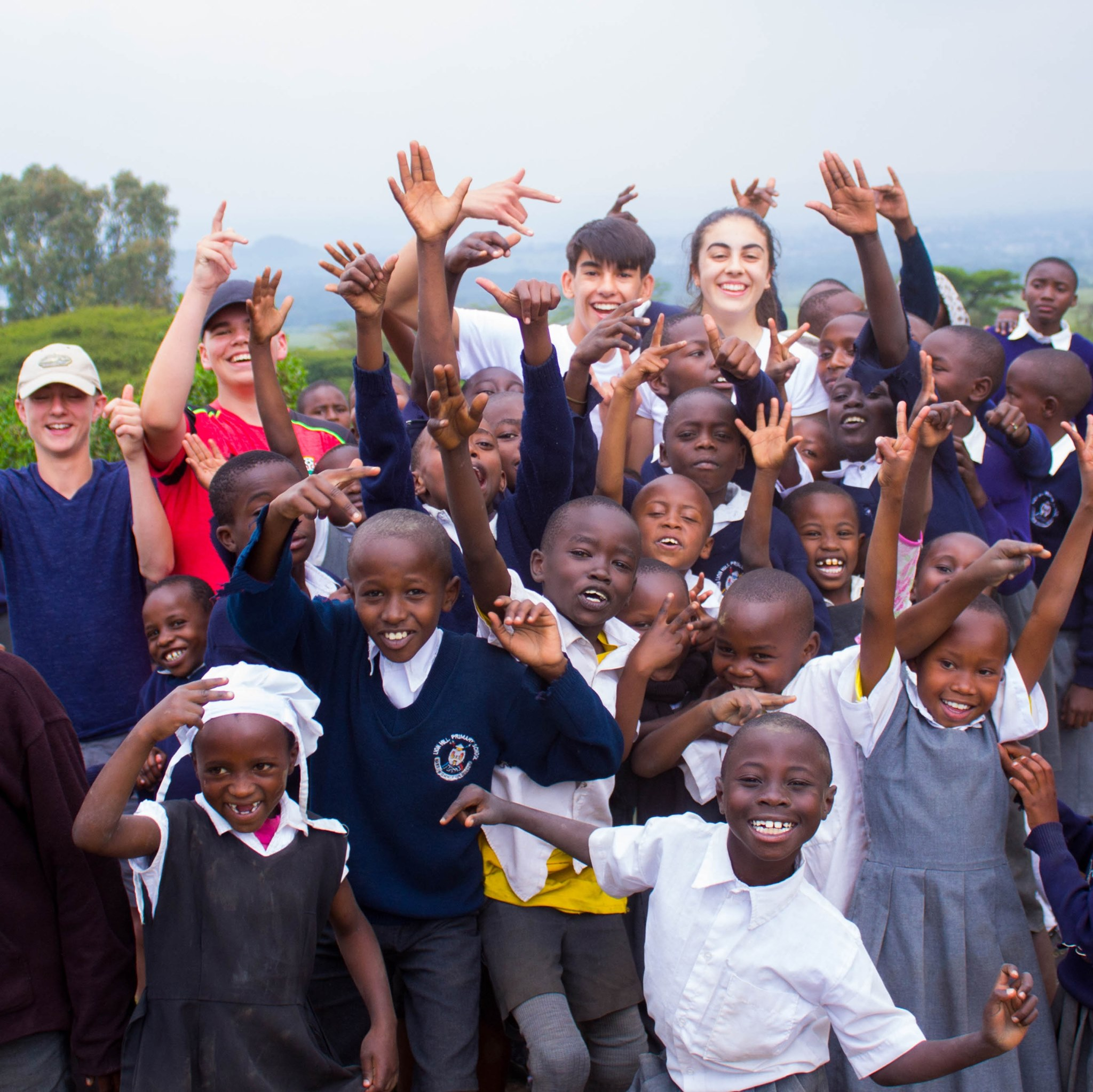 school trips to africa