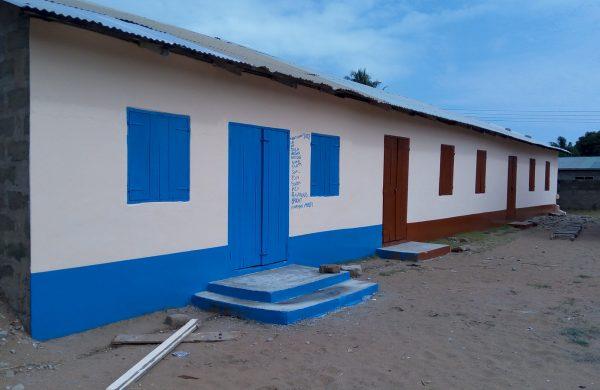 Tegbi School in Ghana