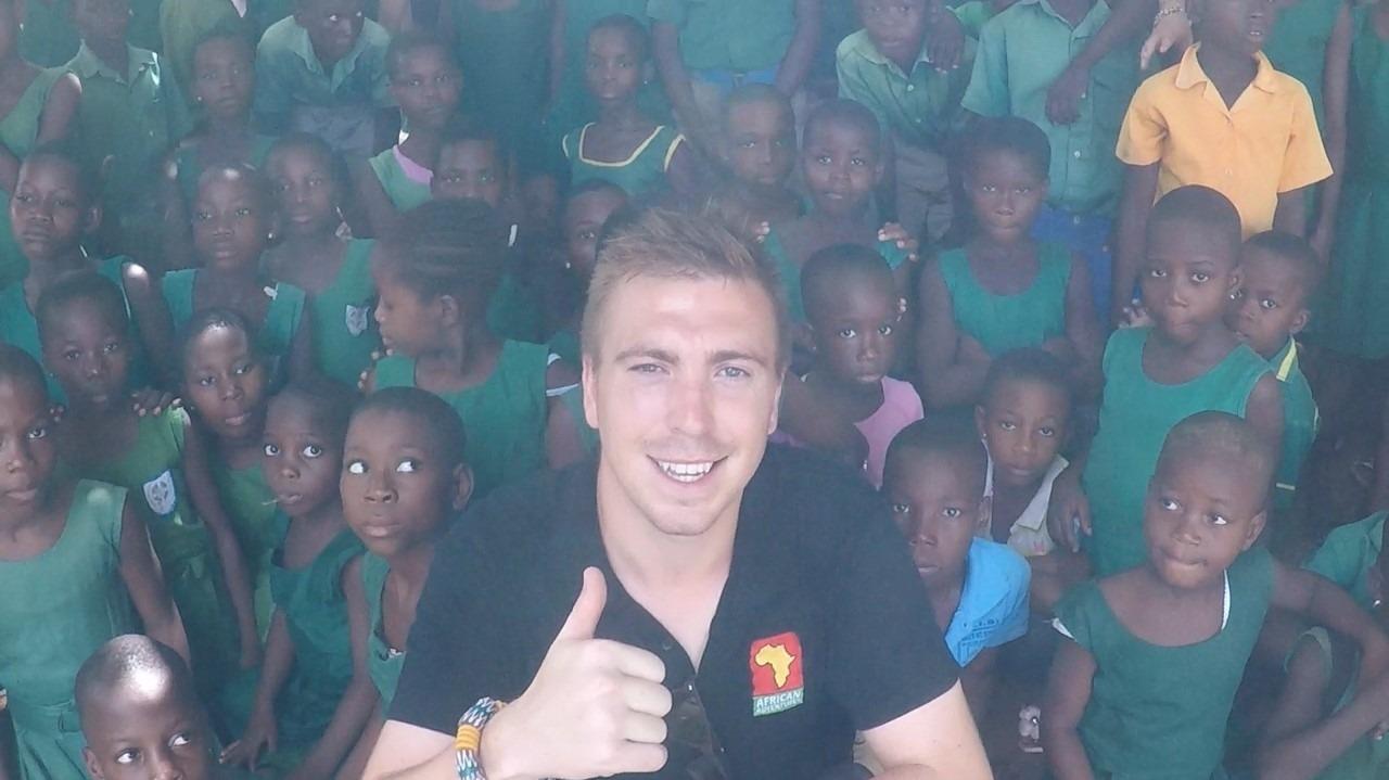 DREW'S FIRST TRIP TO GHANA
