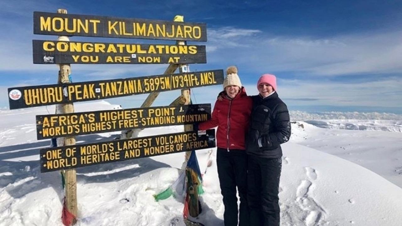 Katie Climb Up Kilimanjaro