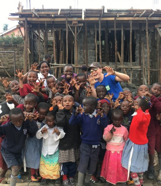 College trip to Africa